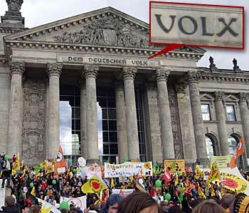 Dem deutschen Volx